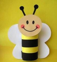 Včelka z ruličky